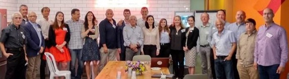 Trendlines Agtech VP Jonathan Henen (6th from right) participated in the Farm to Fork Think Tank event, part of Global Ag&FoodTech TLV #4, 9 May, Ashdod, Israel.