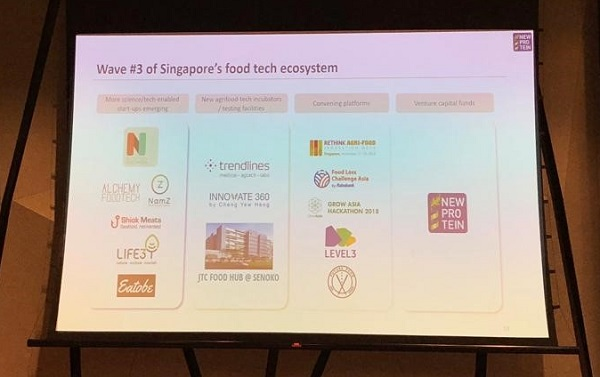 Trendlines is on the map as part of the 3rd vave of Singapore's foodtech ecosystem
